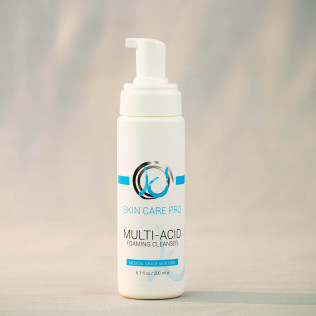 Multi-Acid Foaming Cleanser